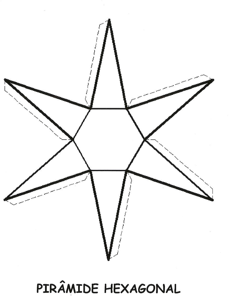 17 Moldes de figuras geométricas para imprimir, recortar e colar ...
